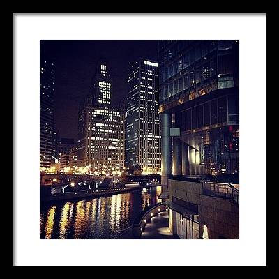 River Framed Prints