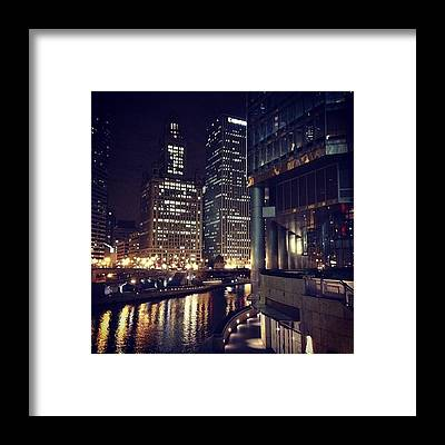 Downtown Framed Prints
