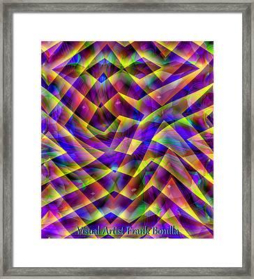 Friday Night Framed Print by Visual Artist  Frank Bonilla