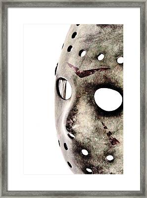 Friday The 13th Framed Print by Benjamin Yeager