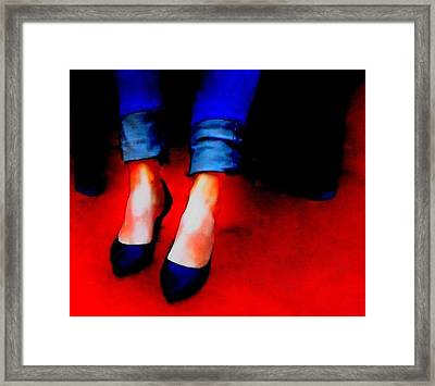 Framed Print featuring the photograph Friday Wear by Lisa Kaiser