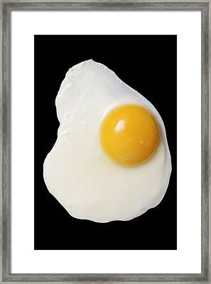 Fried Egg Framed Print by Donald  Erickson