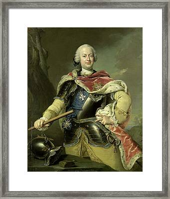 Friedrich Christian, Elector Of Saxony, Gottfried Boy Framed Print