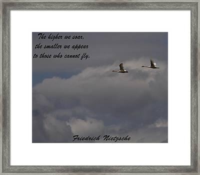 Friedrich Nietzsche Framed Print by Dan Sproul