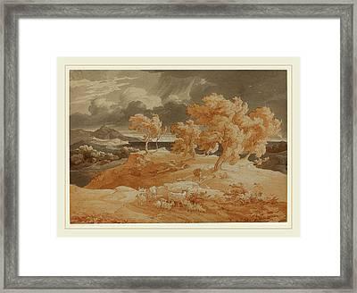 Friedrich Preller The Elder German, 1804-1878 Framed Print