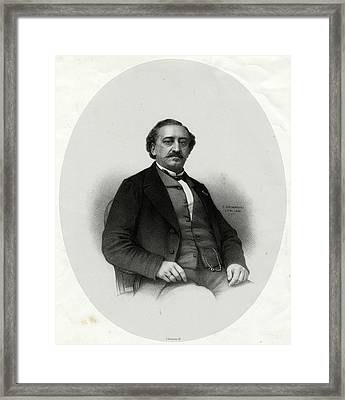 Friedrich Von Flotow  German Musician Framed Print by Mary Evans Picture Library