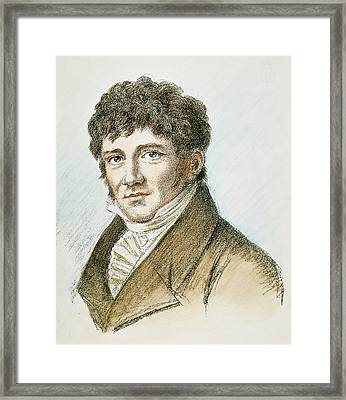 Friedrich Wilhelm Bessel (1784-1846) Framed Print by Granger
