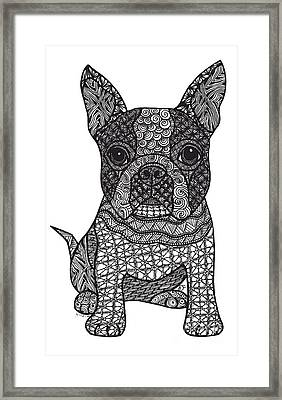 Friend - Boston Terrier Framed Print