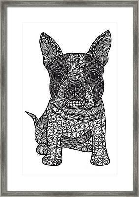 Friend - Boston Terrier Framed Print