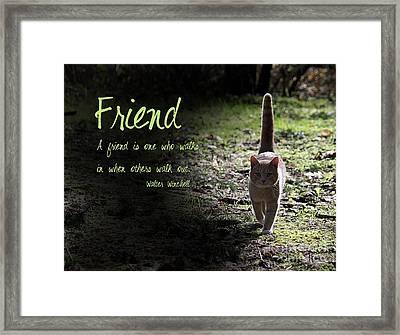 Friend Framed Print