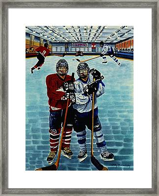 Friends And Foes Framed Print