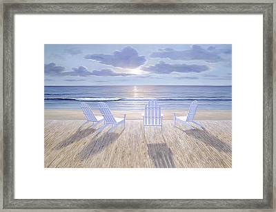 Friends And  Lovers Framed Print