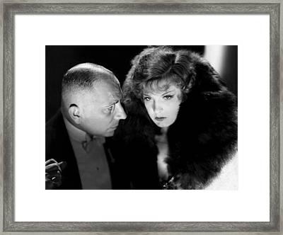 Friends And Lovers, From Left, Erich Framed Print