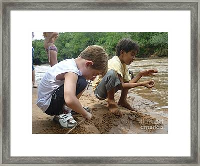 Framed Print featuring the photograph Friends by Beto Machado