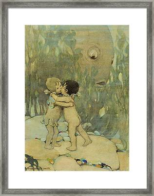 Friends Circa 1916 Framed Print by Aged Pixel