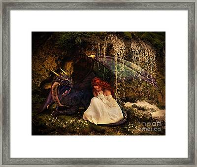 Friends Framed Print by Donika Nikova