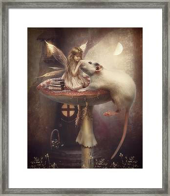 Friends Forever Framed Print by Cindy Grundsten