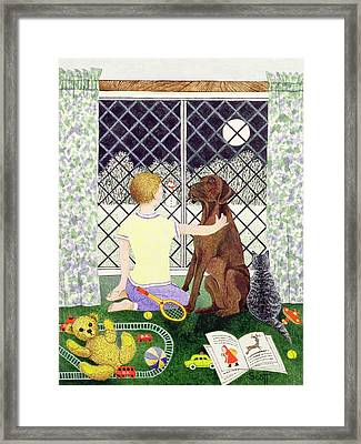 Friends Forever Framed Print by Pat Scott