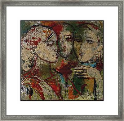 Friends Fr1 Framed Print