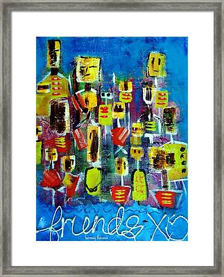 Friends In All Sizes Framed Print