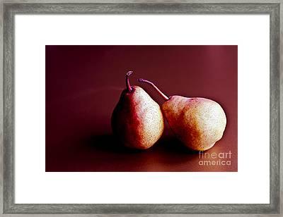 Friends Framed Print by Jan Bickerton
