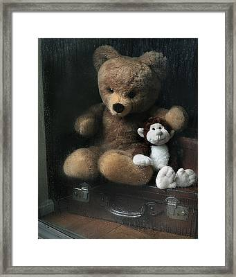 Framed Print featuring the photograph Friends by Krasimir Tolev