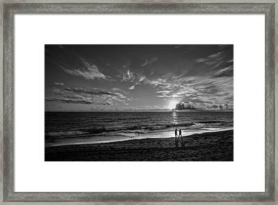 Friends Framed Print
