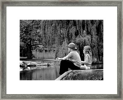 Framed Print featuring the photograph Friends by Mike Flynn