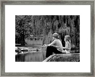 Friends Framed Print by Mike Flynn