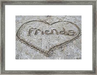 Friends Framed Print by Frozen in Time Fine Art Photography