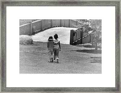Friends Framed Print by Tara Potts