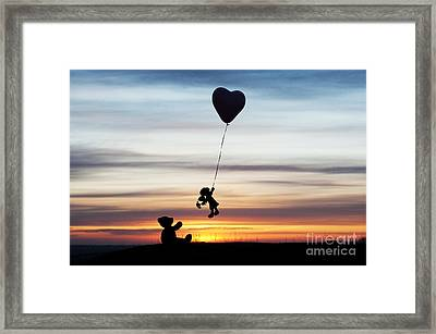 Friends Framed Print by Tim Gainey
