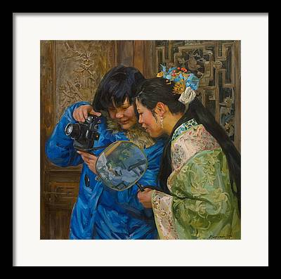 China Paintings Framed Prints