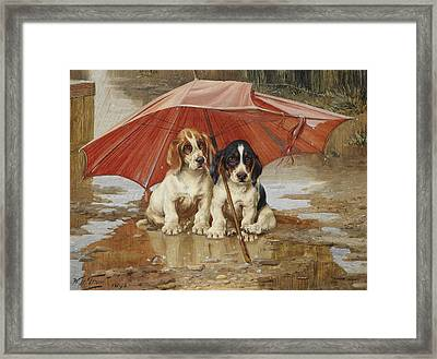Friends Framed Print by William Henry Hamilton Trood