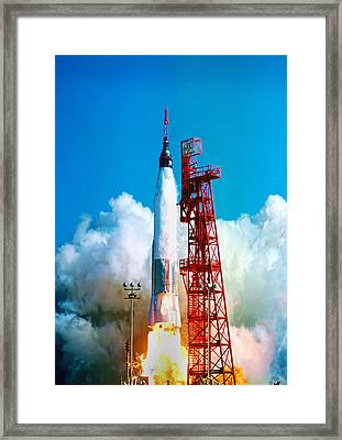 Friendship 7 Framed Print by Peter Chilelli