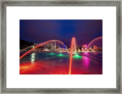 Friendship Fountain Iv Framed Print