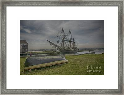 Friendship In The Clouds Framed Print