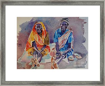 Friendship  Framed Print by Mohamed Fadul