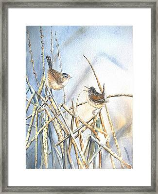 Friendship Framed Print by Patricia Pushaw