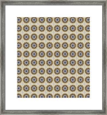 Friendship Pattern Small Framed Print by Susan Leggett