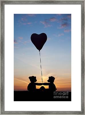 Friendship Framed Print by Tim Gainey