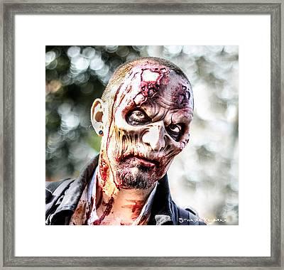 Framed Print featuring the photograph Frightfulness Bones by Stwayne Keubrick