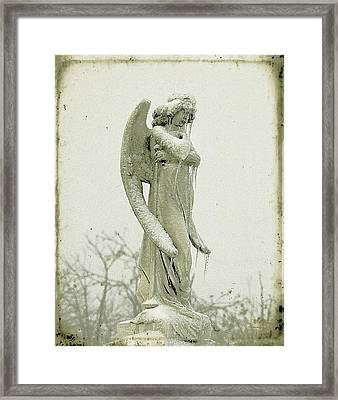 Frigid Angel Framed Print by Gothicrow Images