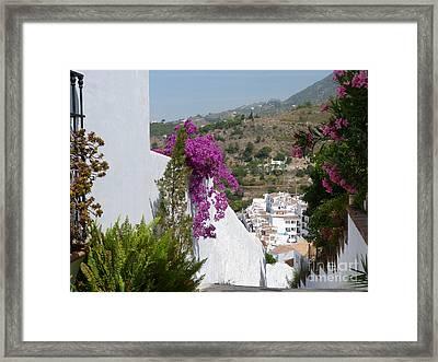 Frigiliana Vista Framed Print by Phil Banks