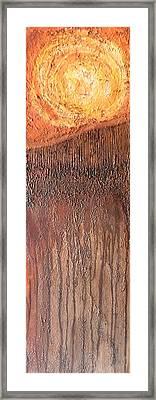 Fringe Framed Print by Buck Buchheister