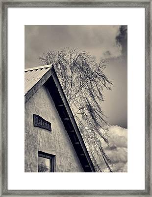 Fringe Framed Print by Odd Jeppesen