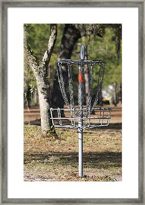Frisbee Golf Framed Print