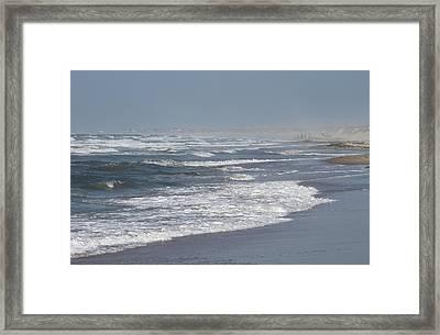 Frisco Beach 3 Framed Print