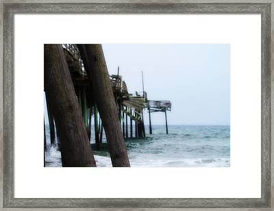 Frisco Pier 17 Framed Print by Cathy Lindsey