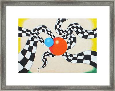 Frisky Framed Print by Sven Fischer